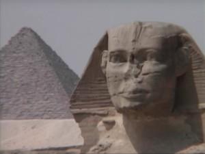 Vision esotérique de l'Egypte : le sphinx.