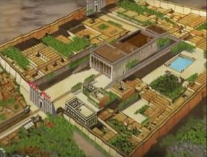 Vision esotérique de l'Egypte : les temples.