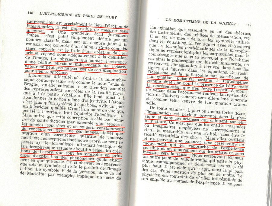 L'intelligence en péril de mort de Marcel De Corte