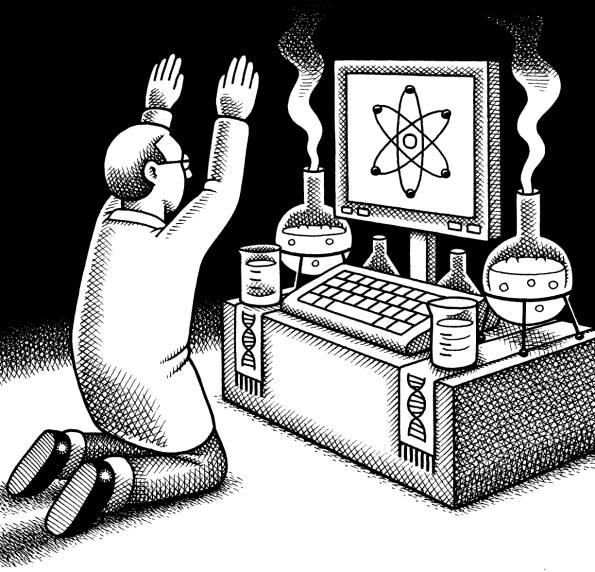L'évolution de la science, de la recherche de la vérité vers une religion dogmatique